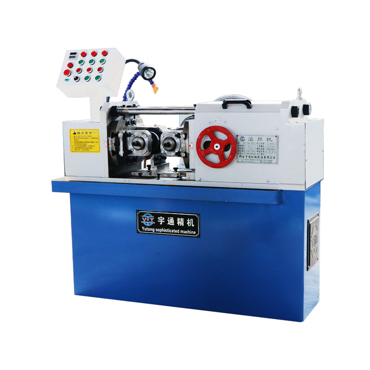 Factory direct large automatic intelligent thread three-axis thread rolling machine price