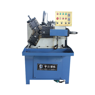 Rebar Rib Rolling MachineTriaxial knurling machine for iron rod thread pattern processing