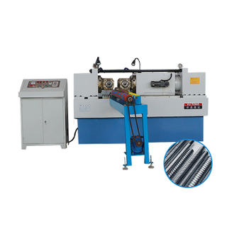 Tie rod making machine 2 mold hydraulic rolling thread machine